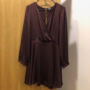 Express Dress w/ long sleeve